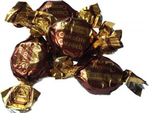 Wrapped Chocolate Caramels Candy Cabin Traditional Online Sweet Shop