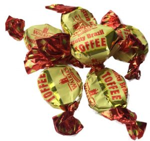 Walkers Wrapped Nutty Brazil Toffees