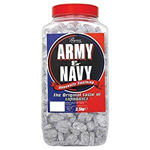 Paynes Army and Navy Jar Sweets