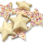 White Chocolate Stars Candy Cabin