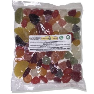 Vegan Jelly Mix - Fruit Selection - Candy Cabin Traditional Online Sweet Shop