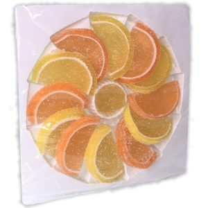 Orange & Lemon Jelly Slices The Candy Cabin Traditional Online Sweet Shop
