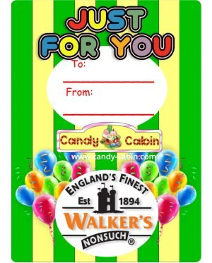 Just For You Walkers Toffee Jars Candy Cabin Online Traditional Sweet Shop